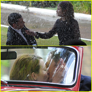 Emily Browning Fights with Tom Hardy in the Rain, But They Kiss & Make Up Later!