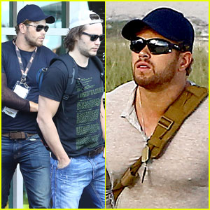 Kellan Lutz & Taylor Kitsch Watch Intense Final World Cup Game!