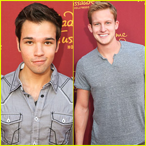Nathan Kress & Maze Runner's Chris Sheffield Hang Out With Marvel Heroes