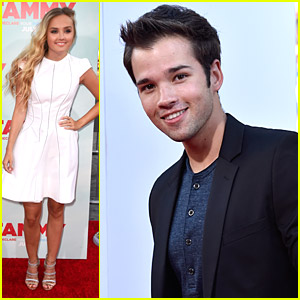 Nathan Kress Hits The 'Tammy' Premiere with Mia Rose Frampton