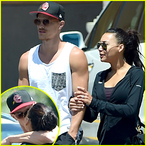 Naya Rivera & New Hubby Ryan Dorsey Show PDA in LA!