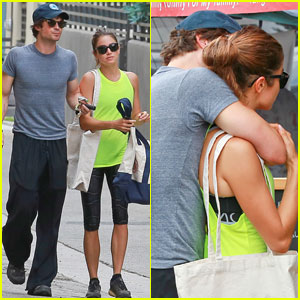 Ian Somerhalder Can't Keep His Hands Off Nikki Reed!
