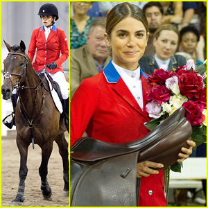 Nikki Reed Saddles Up for 'The Sunday Horse' Filming in Atlanta!