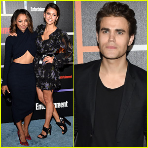 Nina Dobrev & Kat Graham Are 'Vampire Diaries' BFFs for EW's Comic-Con Party 2014