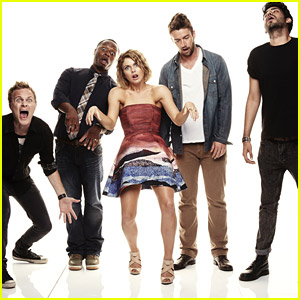 Rose McIver & Her 'iZombie' Cast Do Zombie Walk & It's The Best Picture Ever