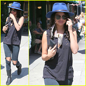 Selena Gomez Lets It Rip at Breakfast