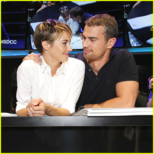 Shailene Woodley & Theo James Meet 'Divergent' Fans at Comic-Con 2014!
