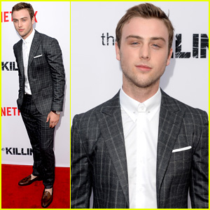 Sterling Beaumon Kills it at 'The Killing' Red Carpet Premiere