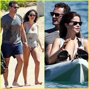 Tammin Sursok & Hubby Sean McEwen are a Hawaiian Kayaking Couple!