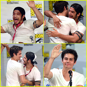 Tyler Posey & Dylan O'Brien Reuniting At Comic-Con 2014 Is The Best Thing We've Seen All Day