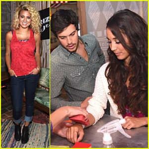 Alex & Sierra Join Tori Kelly For Arizona Jean Co. Brooklyn Event!