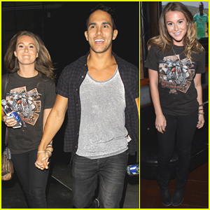 Alexa & Carlos PenaVega Enjoy Married Life at the Justin Timberlake Show!