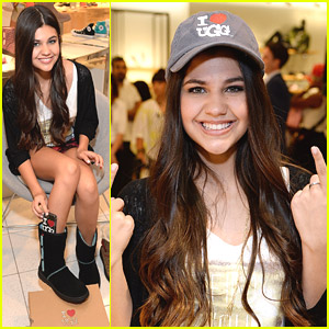 'Haunted Hathaway's Amber Montana Kicks Off 'I Heart Ugg' Style Sessions at Nordstrom