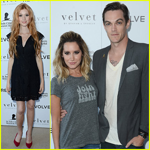 Ashley Tisdale & Katherine McNamara Help Launch Velvet's Childhood Cancer Benefit Collection