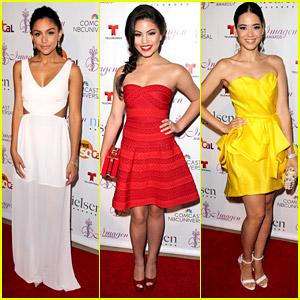 Happyland's Bianca Santos, David Lambert, Paola Andino & More Attend Imagen Awards 2014