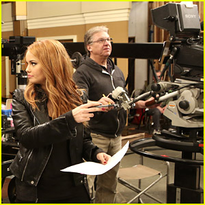 Debby Ryan Makes Directorial Debut on 'Jessie' - See Exclusive Pics!