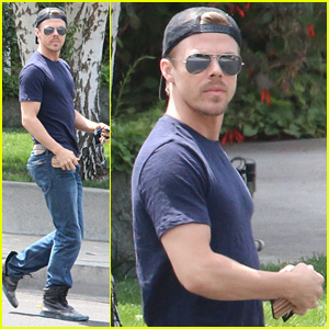 Derek Hough Teams Up with BFF Mark Ballas