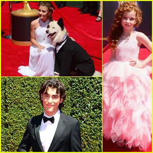 The 'Dog with a Blog' Cast Gets All Dressed for the Creative Emmys - Even the Dog!