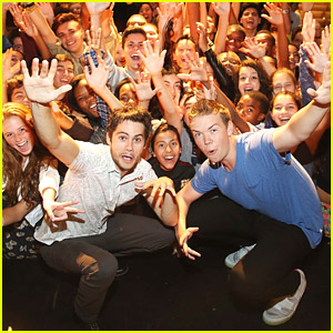 Dylan O'Brien & Will Poulter Get Crazy With Fans at 'Maze Runner' Meet & Greet