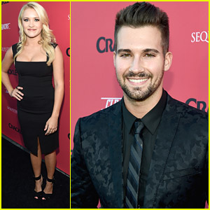 Emily Osment & James Maslow: 'Cleaners' & 'Sequestered' Premiere!