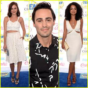 Chasing Life's Haley Ramm, Aisha Dee & Richard Brancatisano Bring Life To Teen Choice Awards 2014