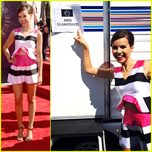 Miss Glamorazzi Ingrid Nilsen Took JJJ to the MTV VMAs 2014!