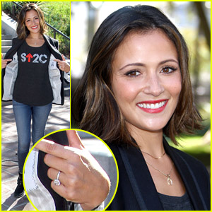 Chasing Life's Italia Ricci: Get Exclusive Details About Her Engagement Ring From Robbie Amell!