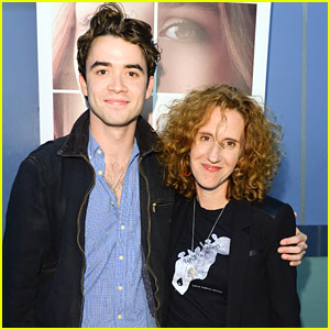Jamie Blackley Premieres New Movie 'If I Stay' in Toronto with Author Gayle Forman