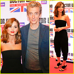 Jenna Coleman Says Peter Capaldi's Doctor Brings Out 'Control Freak' Clara