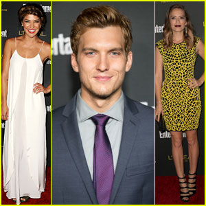 Jessica Szohr & Scott Michael Foster Heat Up the Entertainment Weekly Pre-Emmy Party!