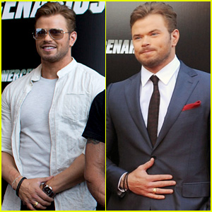 Kellan Lutz Brings 'The Expendables 3' to Spain!