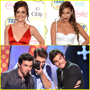 The 'Pretty Little Liars' Cast Dominates Choice TV Categories at Teen Choice Awards 2014!