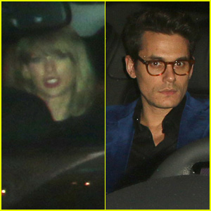 Taylor Swift & John Mayer Dine Separately at Chateau Marmont on