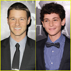 Ben McKenzie & David Mazouz Bring 'Gotham' to the New York Public Library!