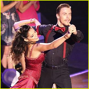 Bethany Mota & Derek Hough's Foxtrot Praised by Meghan Trainor - See the Pics!