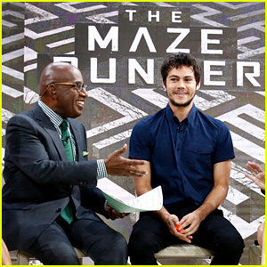 Dylan O'Brien Talks 'The Maze Runner' on 'Today' with Thomas Brodie-Sangster & Ki Hong Lee