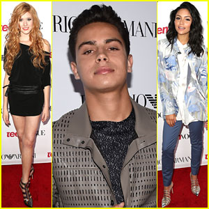 Katherine McNamara & Bianca Santos Bring 'Happyland' to Teen Vogue's Young Hollywood Party!