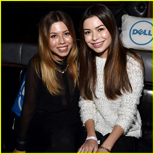 Miranda Cosgrove & Jennette McCurdy Have an 'iCarly' Reunion at Katy Perry Concert!