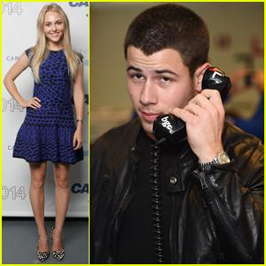 Nick Jonas & AnnaSophia Robb Help Honor 9/11 Victims at Cantor Fitzgerald's Charity Day