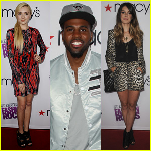 Peyton List & Shenae Grimes Get Stylish for Macy's Glamorama Fashion Rocks Event