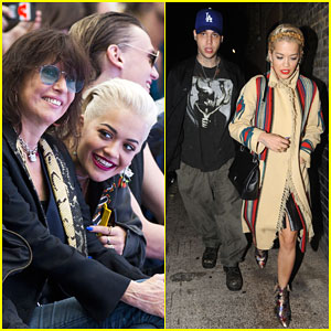 Rita Ora Hits the Town with Boyfriend Ricky Hilfiger!