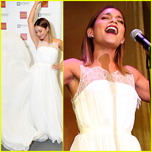 Vanessa Hudgens Covers Beyonce's 'I Was Here' Live (Video)