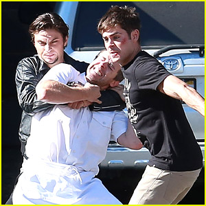 Zac Efron Gets Into Fist Fight On 'We Are Your Friends' Set