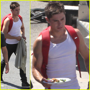 Zac Efron Gets a Few New Nicknames on 'We Are Your Friends' Set