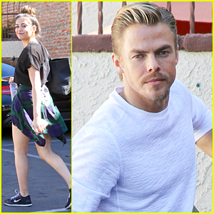 Bethany Mota Says Derek Hough Pushes Her To Do New Things