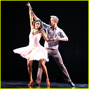 Bethany Mota & Derek Hough 'Try' the Rumba on 'DWTS' - See the Pics!
