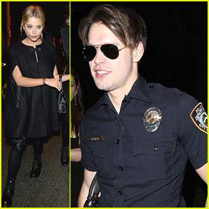 Chord Overstreet Is The Hottest Halloween Cop We've Ever Seen