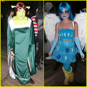 Colton Haynes & Lucy Hale Don't Mess Around When It Comes to Halloween Costumes
