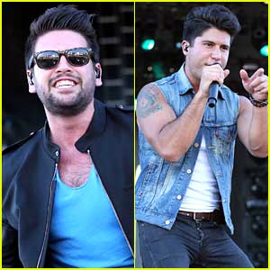 Dan & Shay Rock Out Vegas At Route 91 Festival