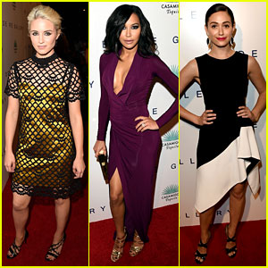 Naya Rivera & Dianna Agron Bring 'Glee' to the Wildlife Show
